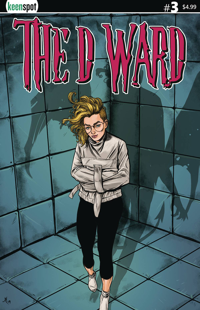Image: D Ward #3 (cover A - Alex Smith) - Keenspot Entertainment