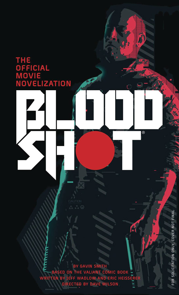Image: Bloodshot: The Novelization PB  - Titan Books