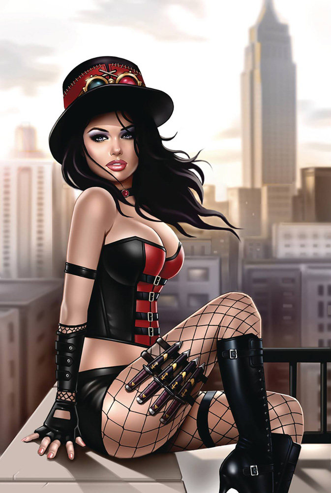 Image: Van Helsing vs. The League of Monsters #1 (cover C - Garvey) - Zenescope Entertainment Inc