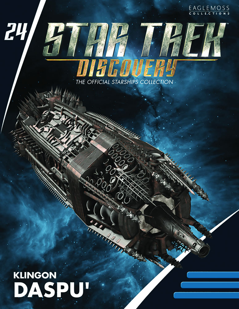 Star Trek Discovery Official Starships Collection: Klingon Daspu' Class  - Eaglemoss Publications Ltd