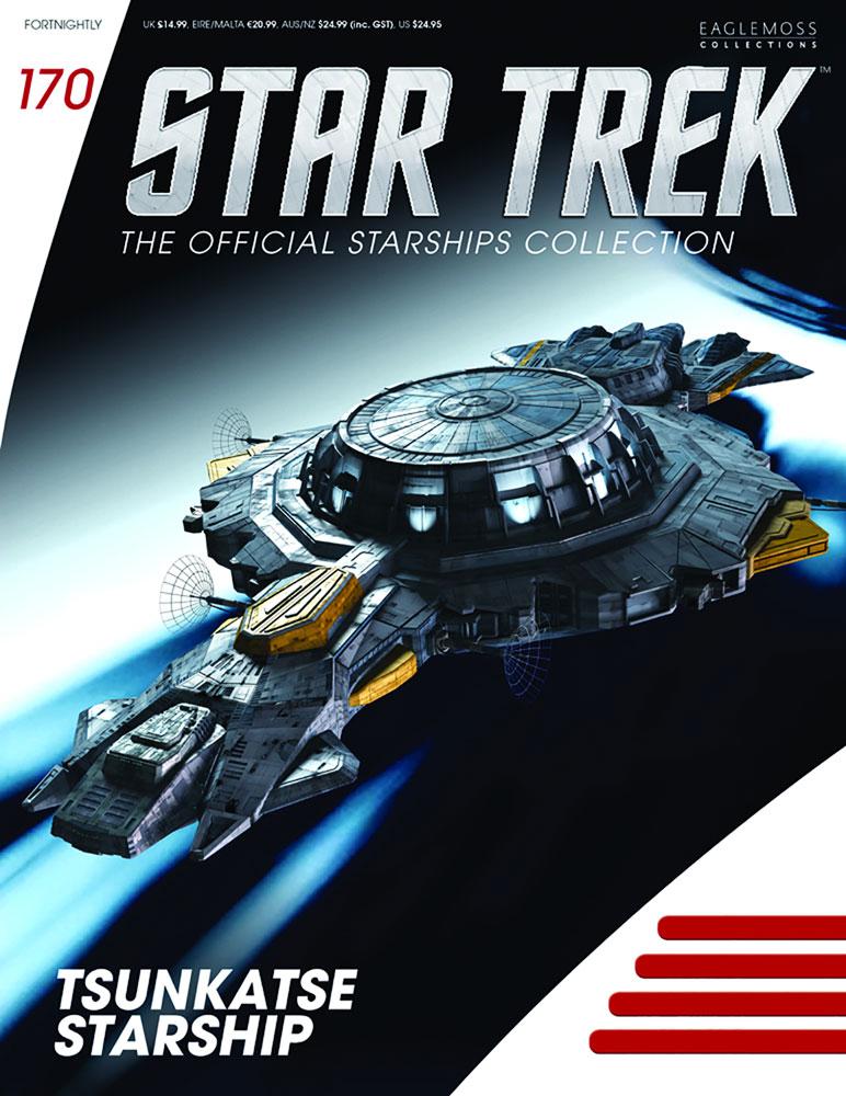 Star Trek Starships Figure Magazine #170 (Tsunkatse Ship) - Eaglemoss Publications Ltd