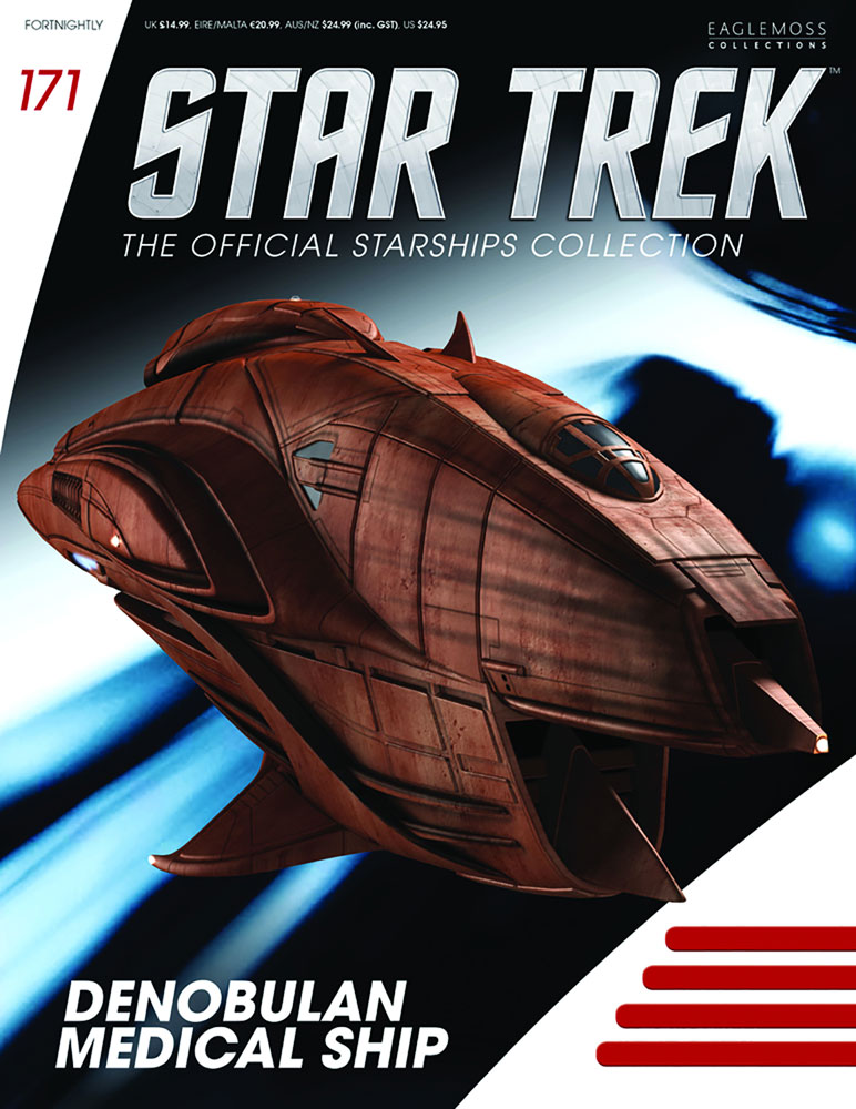 Star Trek Official Starships Collection: Denobulan Medical Ship #171 - Eaglemoss Publications Ltd