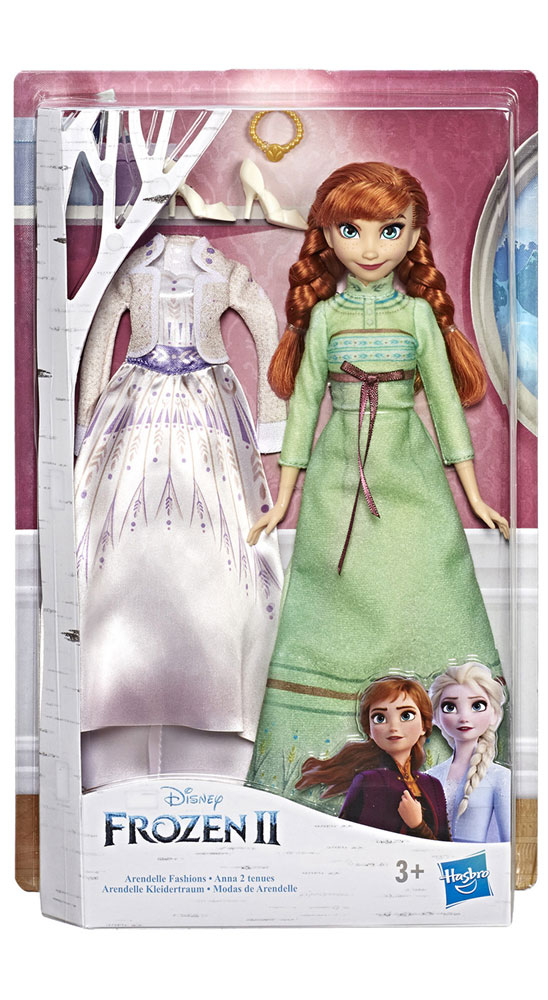 Frozen 2 Arendelle Fashions Doll Assortment  - Hasbro Toy Group
