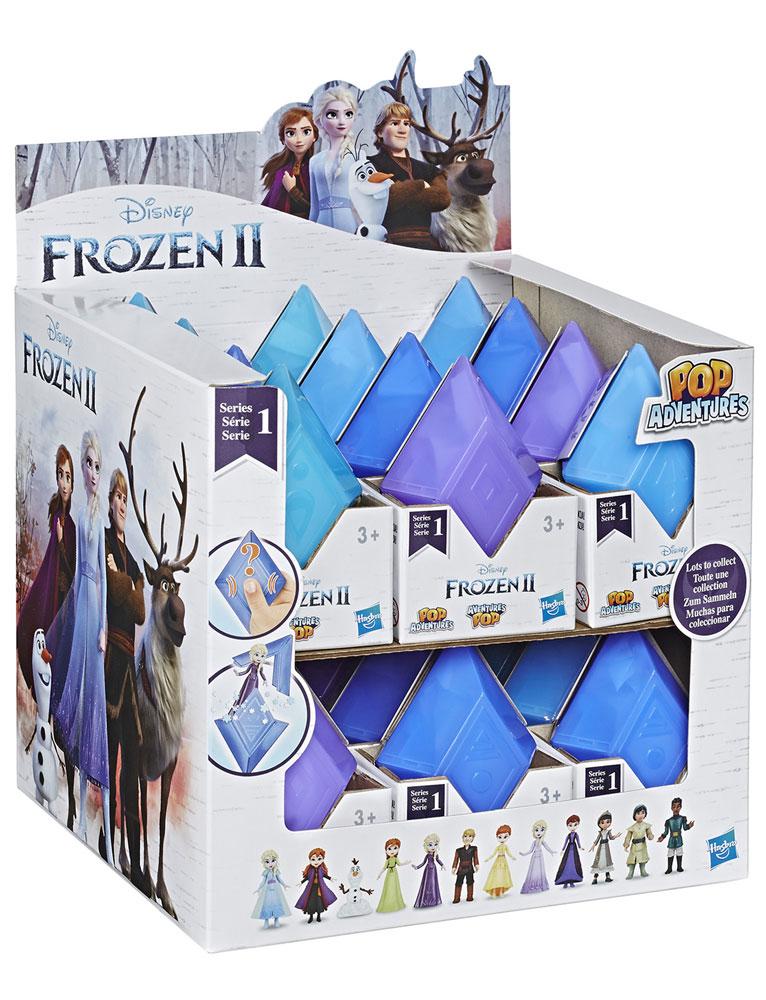 Disney Frozen Pop Adventure Mini-Figure Blind Mystery Box Display 201901  - Hasbro Toy Group