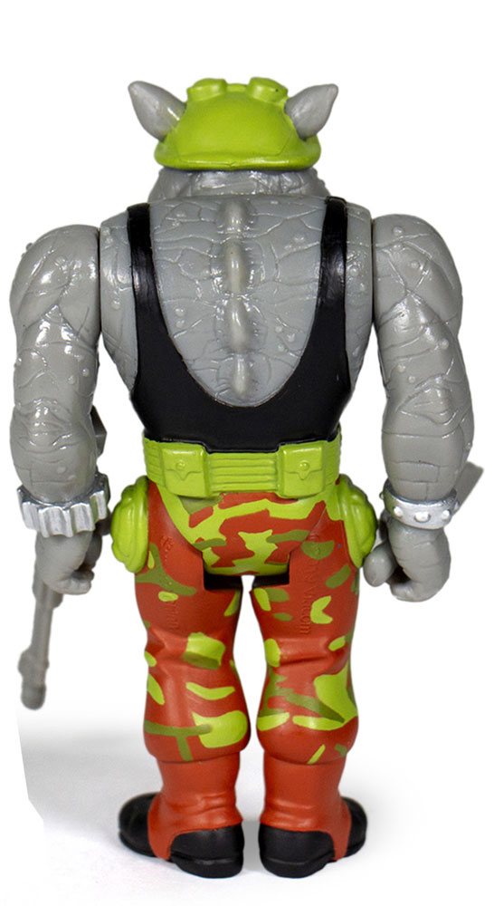 Teenage Mutant Ninja Turtles Reaction Figure: Rocksteady  - Super 7
