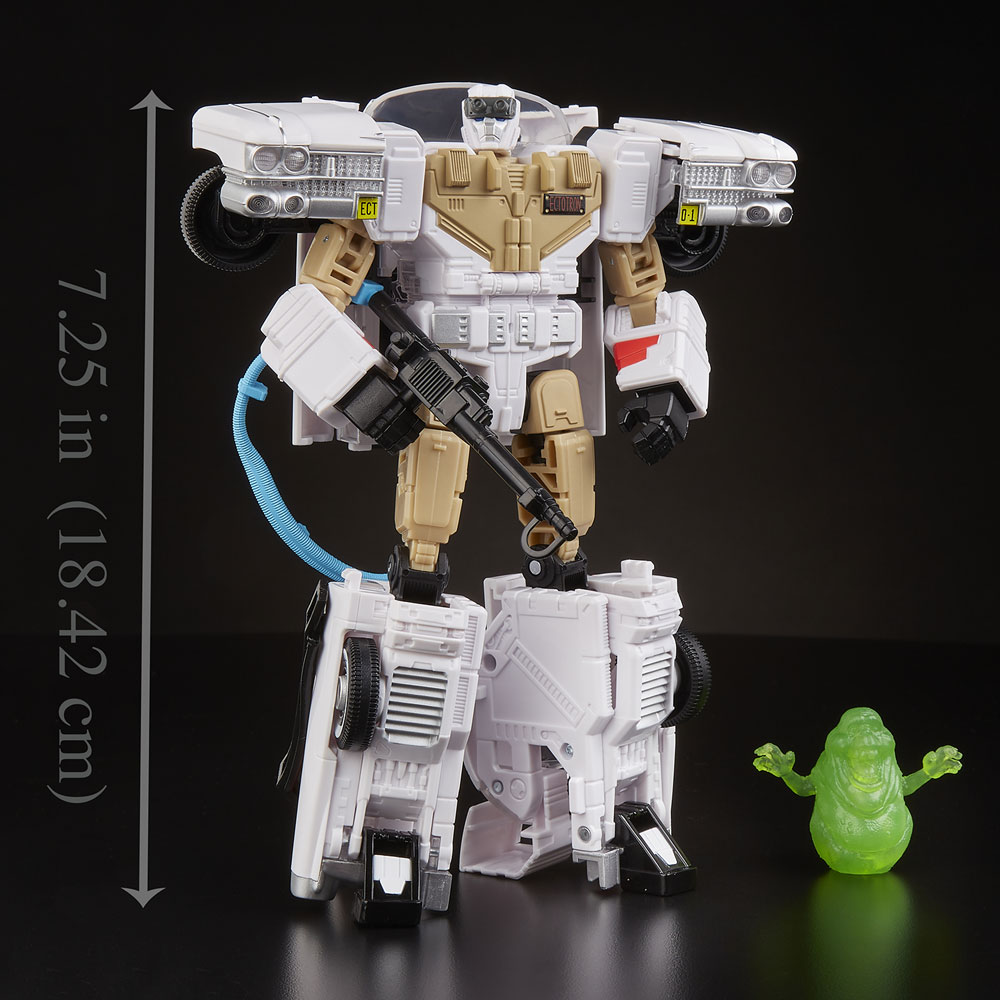 Transformers Gen Ghostbusters Ectotron Action Figure Case  - Hasbro Toy Group
