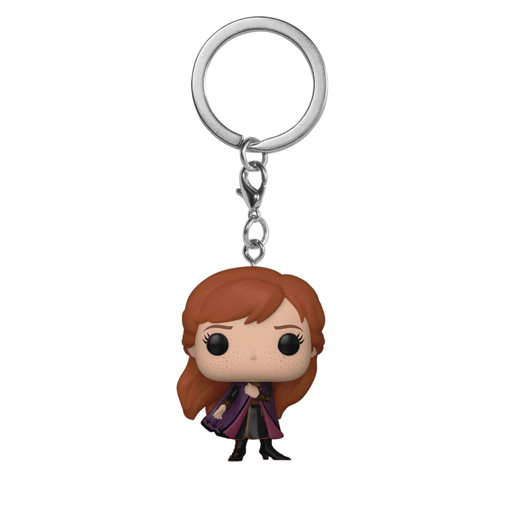 Image: Pocket Pop! Figure Keychain: Frozen 2 - Anna  - Funko