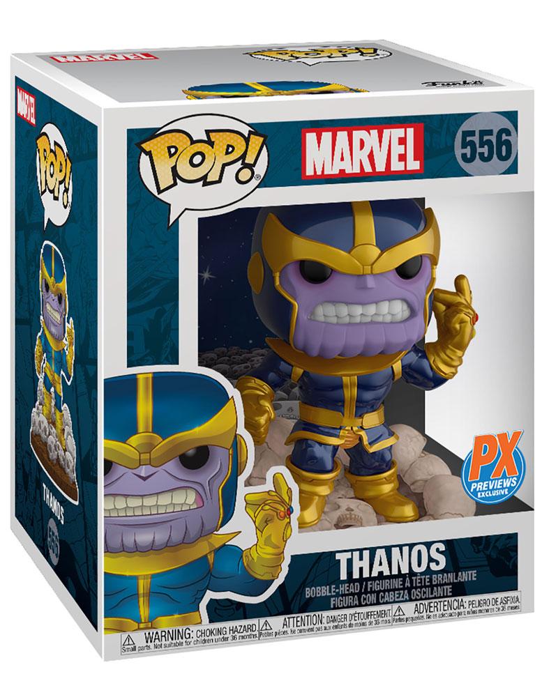 Pop! Marvel Previews Exclusive Bobble-Head 556: Thanos  - Funko