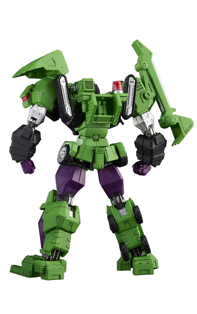Transformers Model Kit: Devastator Furai  - Flame Toys