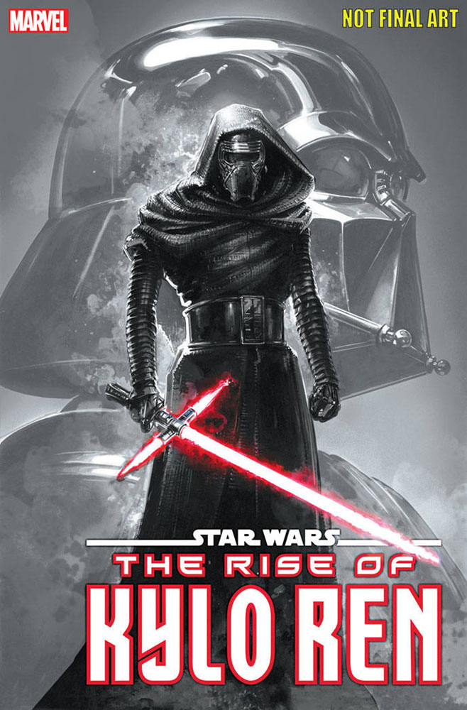 Image: Star Wars: The Rise of Kylo Ren #1 (variant cover - 3rd printing) - Marvel Comics