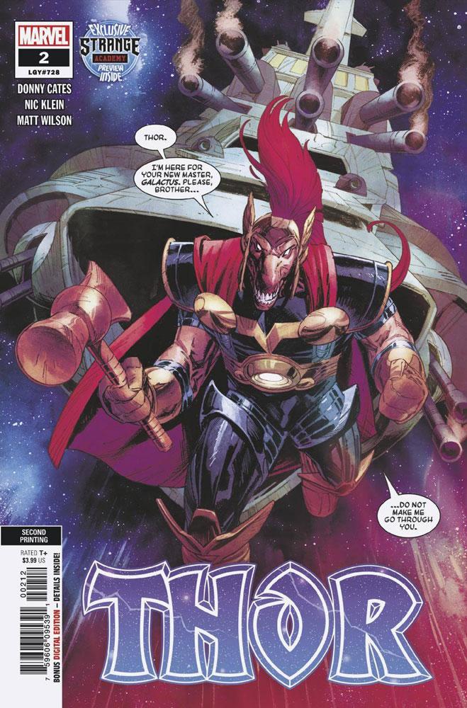 Thor #2 5th Printing Presale 09//23//2020