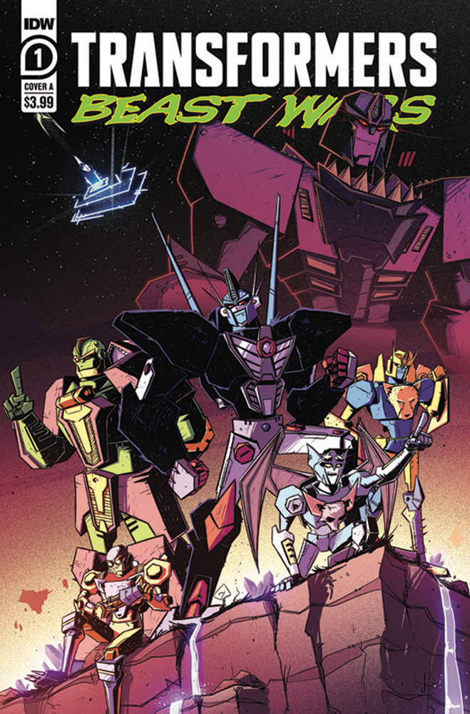 Image: Transformers: Beast Wars #1 (cover A - Josh Burcham) (Web Super Special) - IDW Publishing