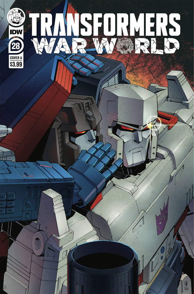 Image: Transformers #28 (cover A - Casey W Coller) - IDW Publishing