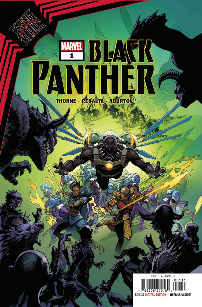 Image: King in Black: Black Panther #1 - Marvel Comics