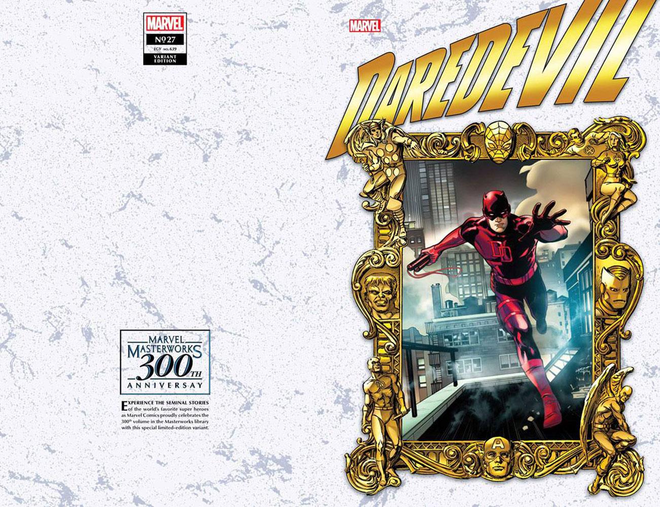 Daredevil #27 (KiB) (variant Masterworks cover - Lupacchino)  [2021] - Marvel Comics