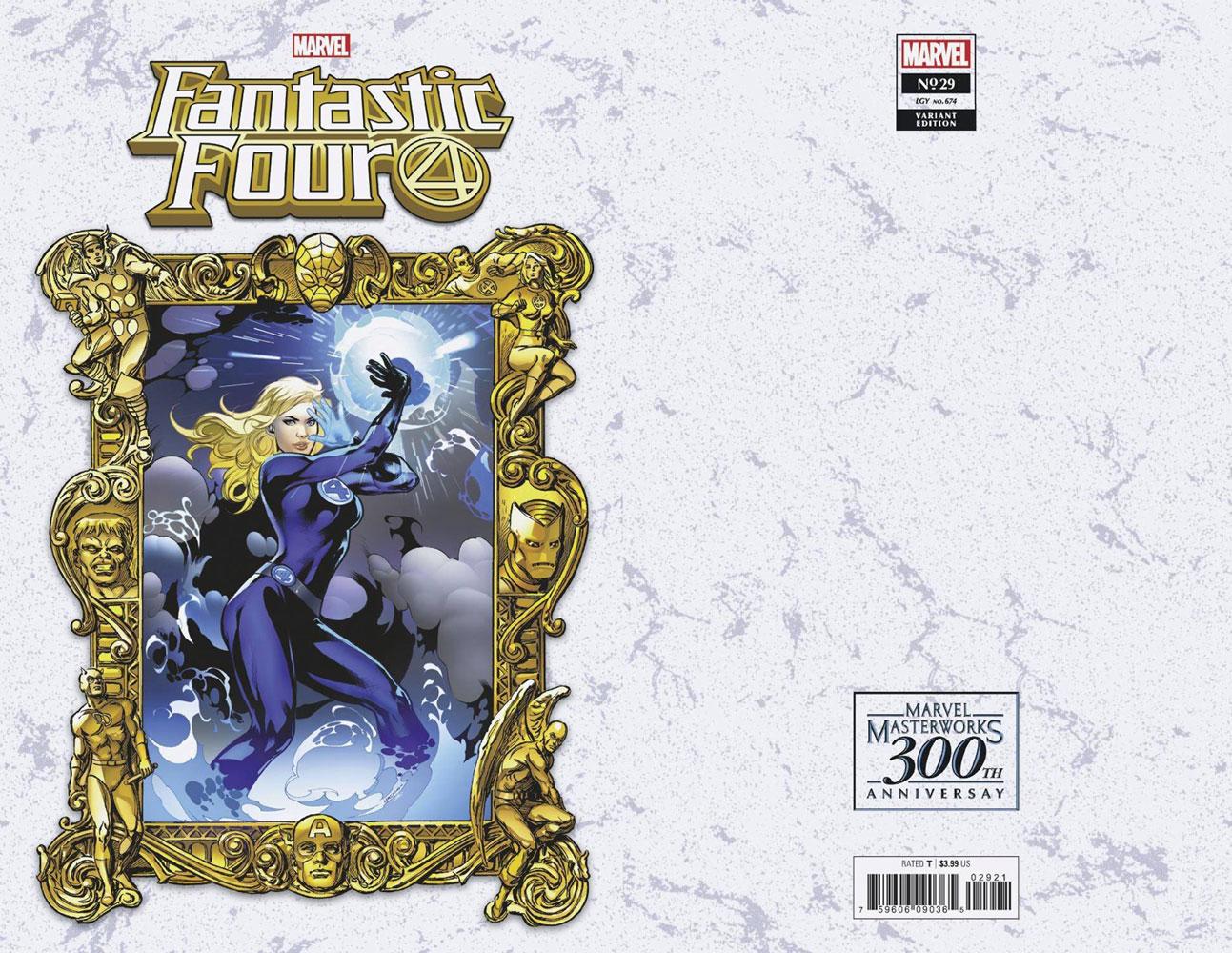 Fantastic Four #29 (KiB) (variant Masterworks cover - Lupacchino)  [2021] - Marvel Comics