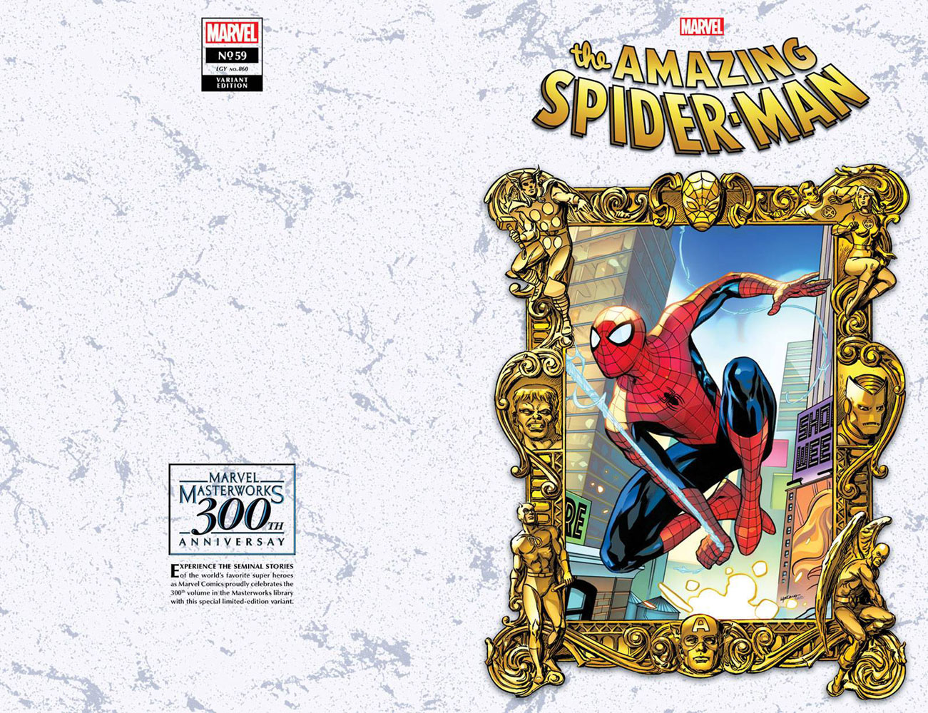 Amazing Spider-Man #59 (variant Masterworks cover - Lupacchino)  [2021] - Marvel Comics