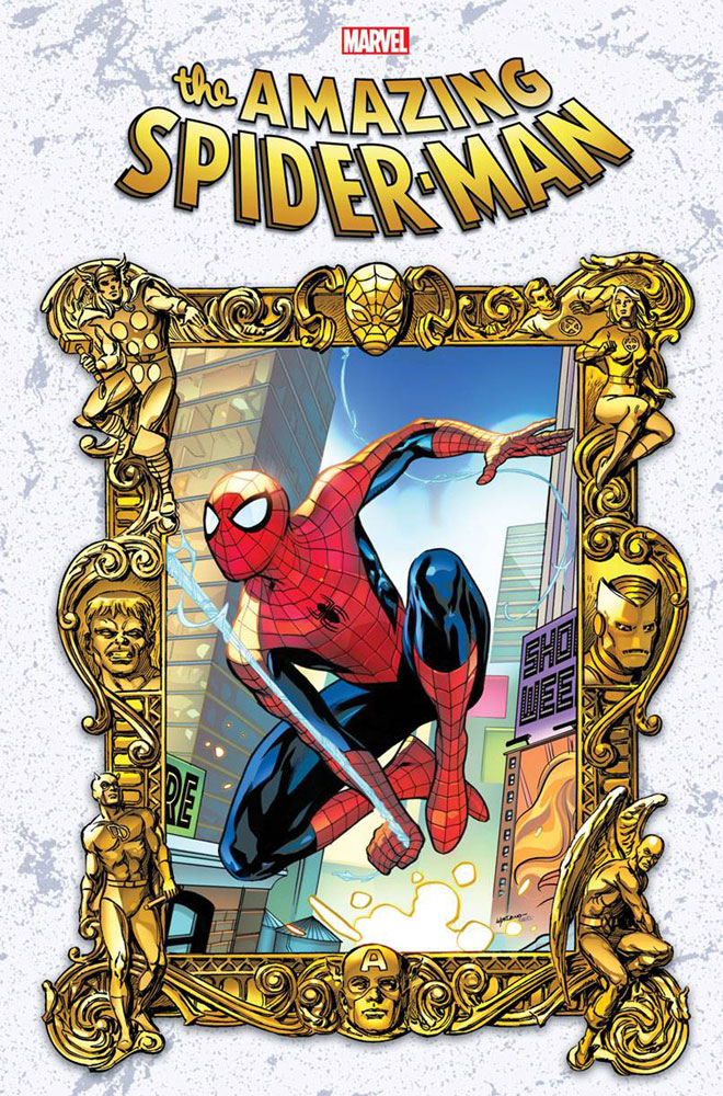 Image: Amazing Spider-Man #59 (variant Masterworks cover - Lupacchino)  [2021] - Marvel Comics