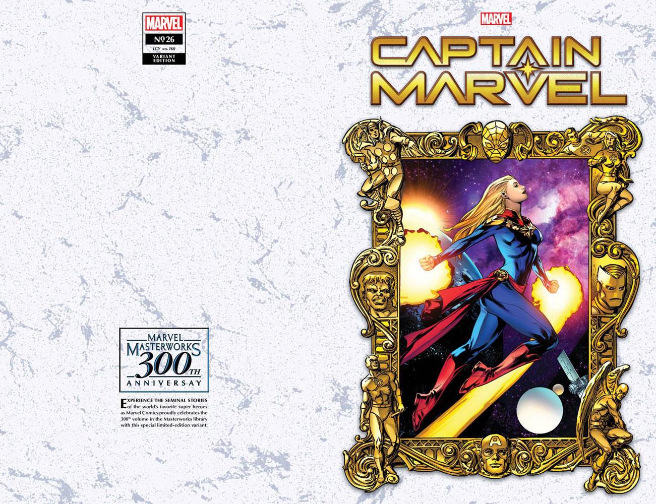 Captain Marvel #26 (variant Masterworks cover - Lupacchino)  [2021] - Marvel Comics