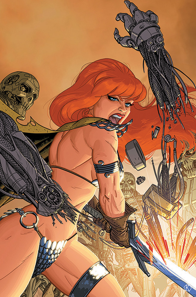 Image: Red Sonja: The Superpowers #2 (incentive 1:25 cover - Kano virgin) - Dynamite