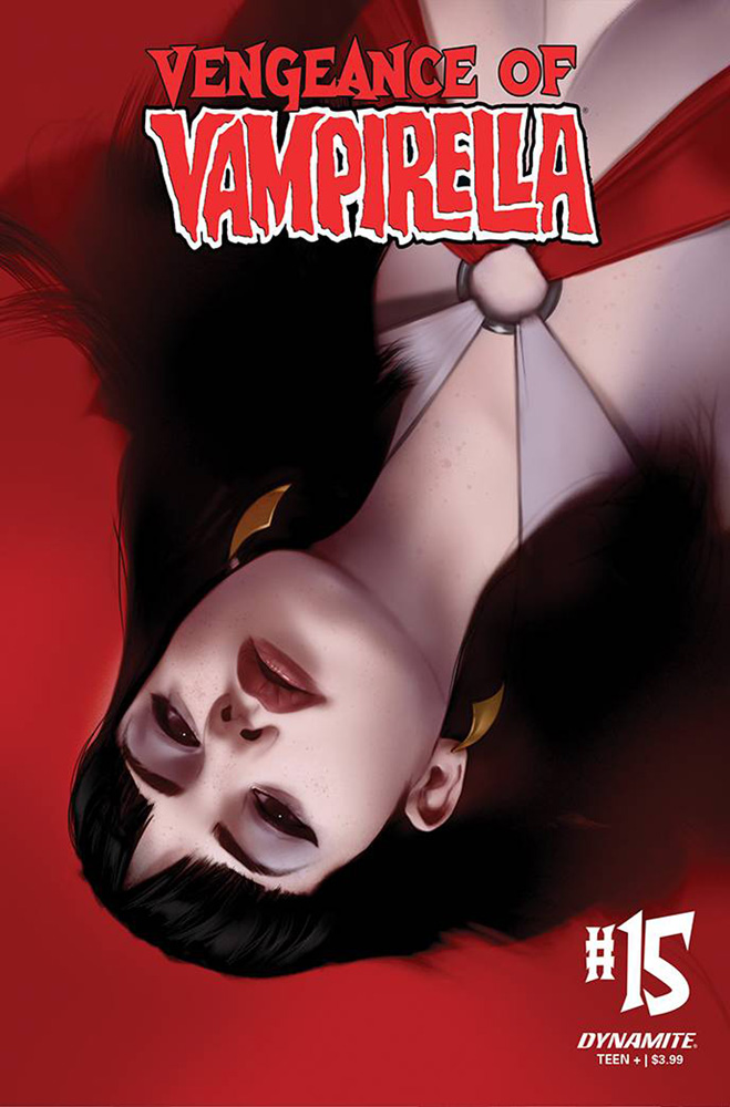 Image: Vengeance of Vampirella Vol. 02 #15 (variant CGC Graded cover - Oliver) - Dynamite