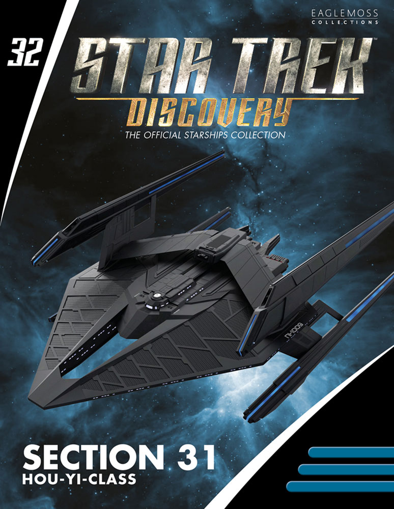 Star Trek Discovery Figure Magazine #32 (Section 31 Hou Yi Class) - Hero Collector