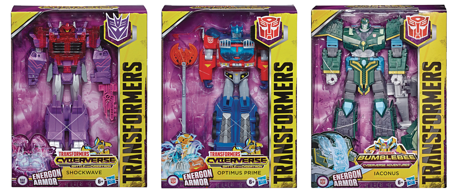 Image: Transformers Cyberverse Ultimate Action Figure Assortment 202002  - Hasbro Toy Group