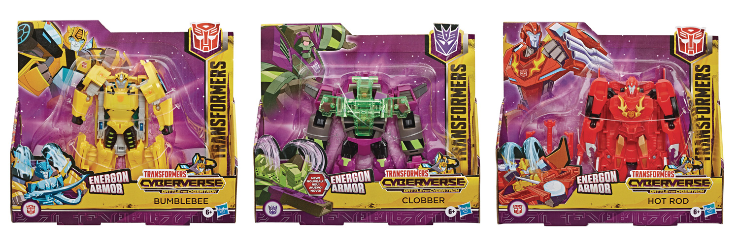 Image: Transformers Cyberverse Ultra Action Figure Assortment 202001  - Hasbro Toy Group