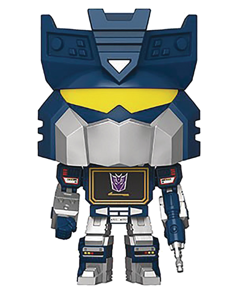 Image: Pop! Transformers Vinyl Figure: Soundwave  - Funko