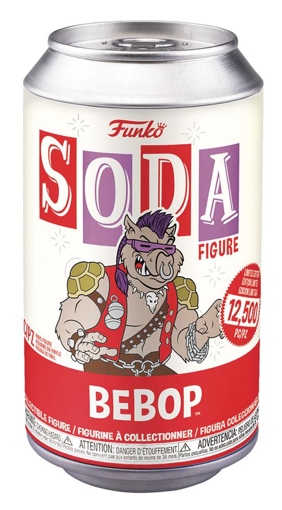 Vinyl SODA: Teenage Mutant Ninja Turtles - Bebop  (w/Deco Chase) - Funko