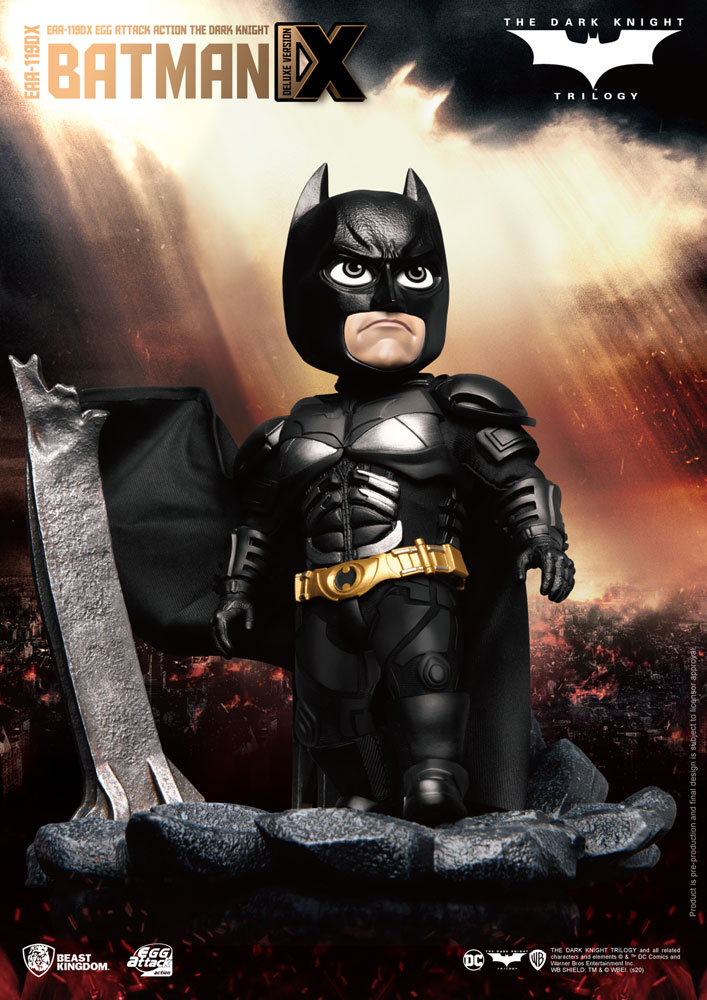 Dark Knight Action Figure: EAA-119DX Batman  (deluxe version) - Beast Kingdom Co., Ltd