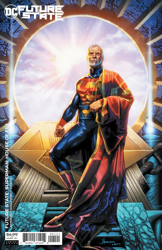 Image: Future State: Superman: House of El #1 (variant card stock cover - Jay Anacleto) - DC Comics