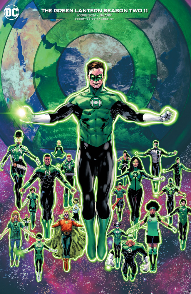 Image: Green Lantern Season Two #11 (variant cover - Phil Jimenez) - DC Comics
