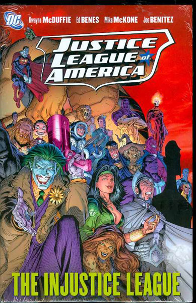 Image: Justice League of America: Injustice League HC  - DC Comics