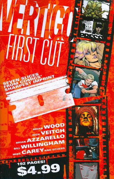 Image: Vertigo: First Cut SC  - DC Comics