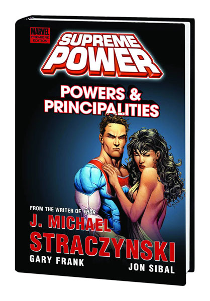 Image: Supreme Power: Powers & Principalities HC  - Marvel Comics