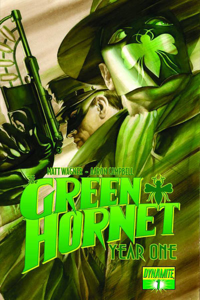 Image: Green Hornet: Year One #1 (25-Copy Wagner B&W incentive cover) (v25) - Dynamite