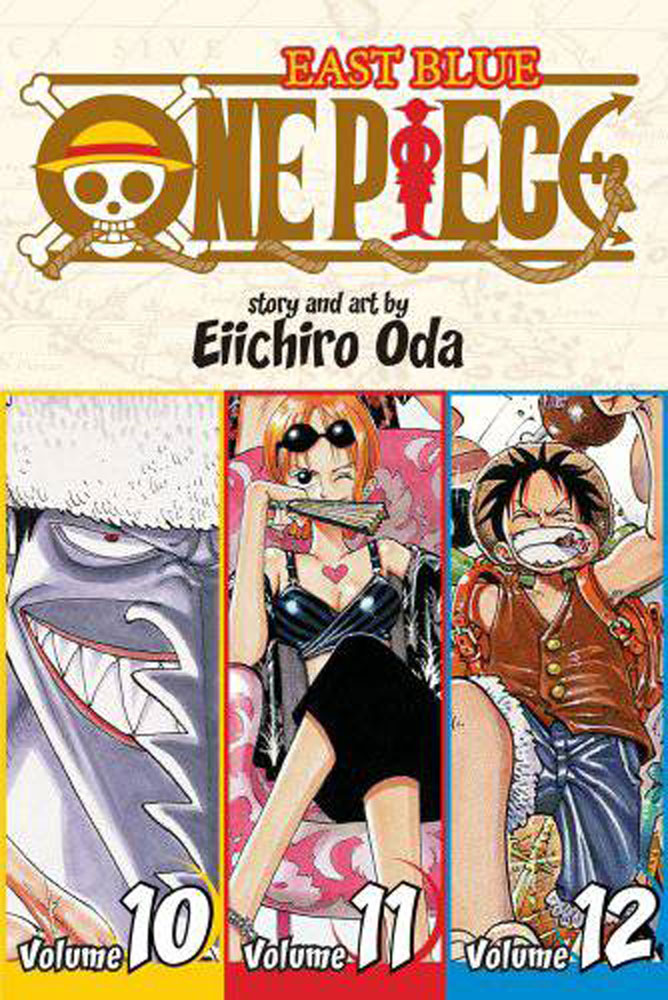 Image: One Piece Omnibus Vol. 10 11 & 12: East Blue SC  - Viz Media LLC