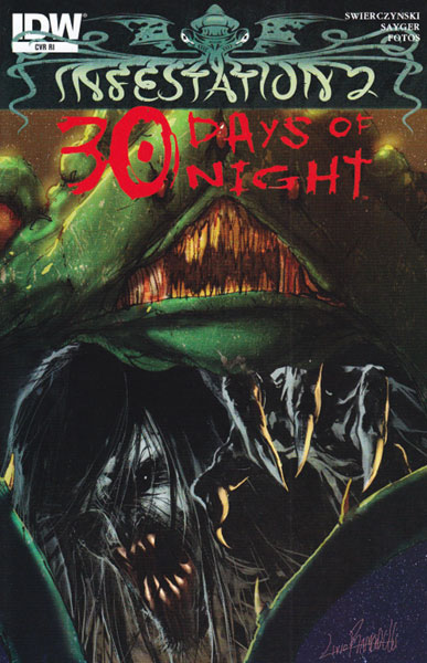 Image: Infestation 2: 30 Days of Night  (10-copy incentive cover) (v10) - IDW Publishing