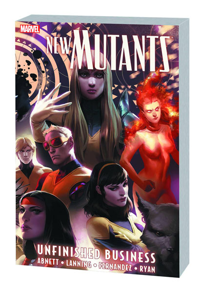 Image: New Mutants: Unfinished Business SC  - Marvel Comics