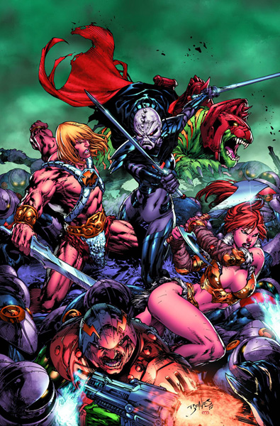Image: He-Man and The Masters of the Universe #1 - DC Comics