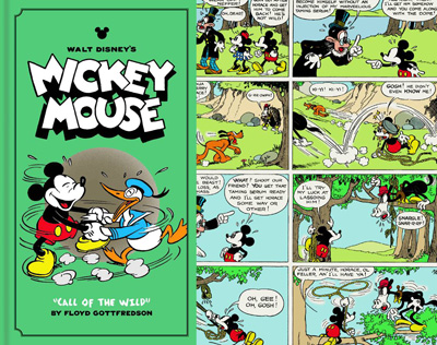 Image: Walt Disney's Mickey Mouse Color Sundays Vol. 01: Call of The Wild HC  - Fantagraphics Books