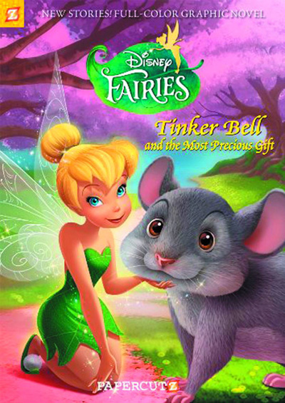 Image: Disney Fairies Vol. 11: Tinker Bell and The Most Precious Gift SC  - Papercutz