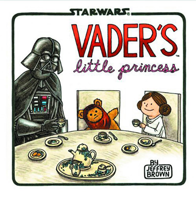 Image: Star Wars: Vader's Little Princess HC  - Chronicle Books