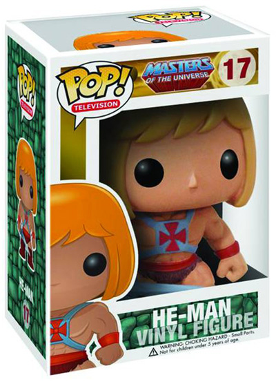 Pop! Television Vinyl Figure 17: Masters of the Universe - He-Man  - Masters Of The Universe