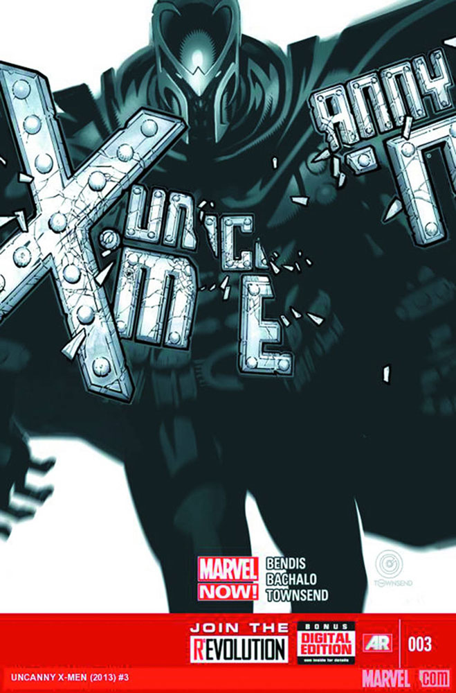 Image: Uncanny X-Men #3 (variant 2nd printing cover - Chris Bachalo)  [2013] - Marvel Comics