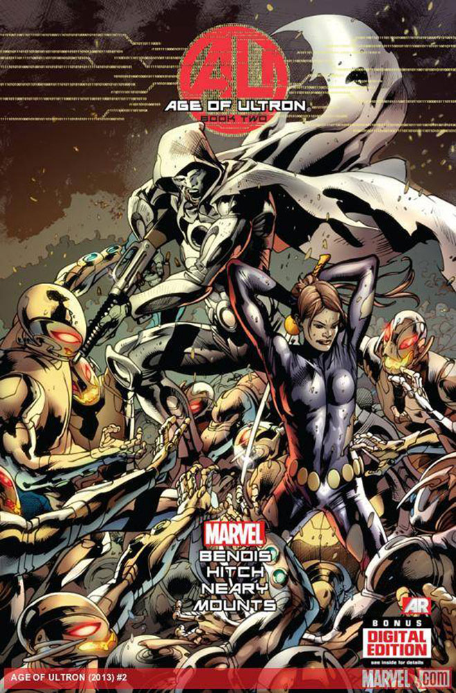 Image: Age of Ultron #2 (variant 2nd printing cover - Bryan Hitch)  [2013] - Marvel Comics