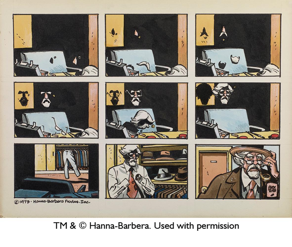 Genius, Animated: The Cartoon Art of Alex Toth HC  - IDW Publishing