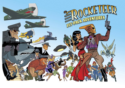 Image: Rocketeer: Jet-Pack Adventures SC  - IDW Publishing