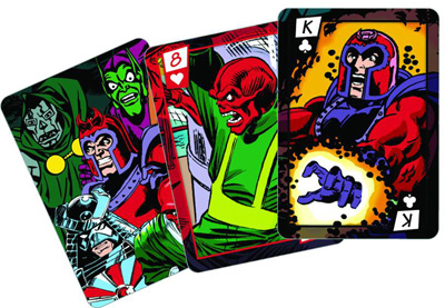 Marvel Villains Playing Cards  -